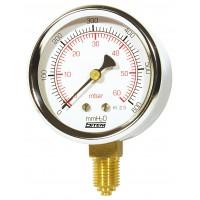 Manómetro de Membrana p/ Gás