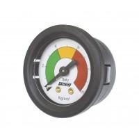 Manómetro c/ Indicador de Pressão - Anel Preto
