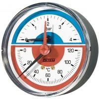 Termómetro c/ Indicador de Temperatura e Pressão